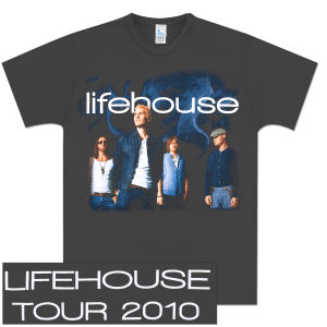 Lifehouse Photo Tour T-Shirt
