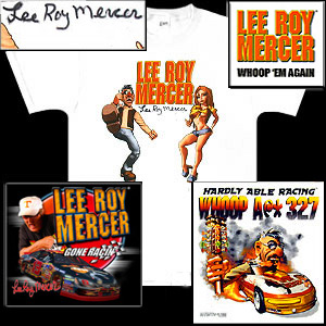 LEE ROY MERCER GONE NHRA RACIN' Tour Pack