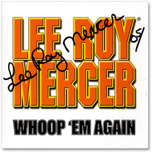 Whoop 'Em Again - Signed CD