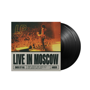 LP - Live in Moscow White 2LP Record