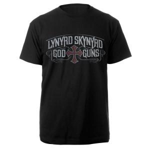 Lynyrd Skynyrd God & Guns Album Cover Tee