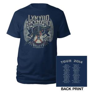 2014 Lynyrd Skynyrd Tour Tee