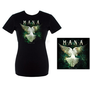 Mana Drama Y Luz Album Junior Tee and CD Combo