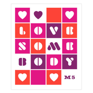Love Somebody Sticker Sheet