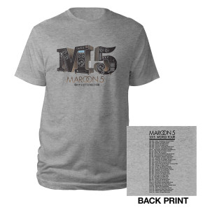 Maroon 5 In Stereo Tour Tee