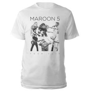 Maroon 5 Live Drawing Tee