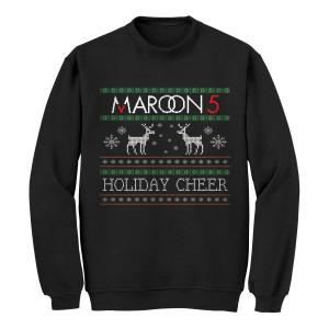 Pre-Order Maroon 5 Reindeer Ugly Christmas Sweater*