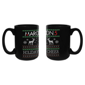 Pre-Order Maroon 5 Reindeer Ugly Christmas Mug*
