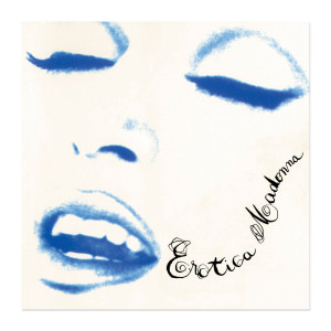 Official Erotica Album Cover Lithograph. Limited Collector's Edition 1/1000