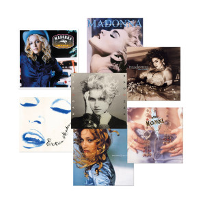 Madonna Lithograph Collectors Set