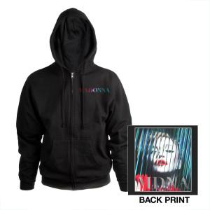 Madonna MDNA Art Zip Hoodie