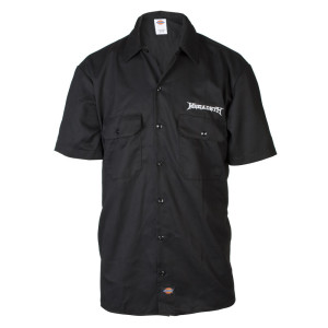 Exclusive - Megadeth Dickies Work Shirt