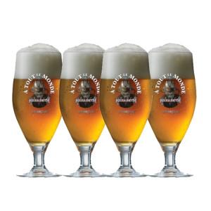 Megadeth A Tout Le Monde Beer Glass Set