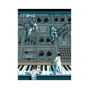 Mike Gordon Burlington LE Poster