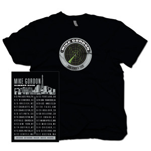 Mike Gordon Radar Blip Black Summer Tour T-Shirt