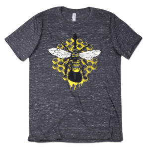 Yarmouth Road Bass Bee T-Shirt