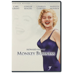 Marilyn Monroe Monkey Business DVD