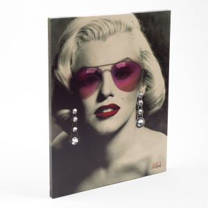Marylin Monroe LED Wall Art