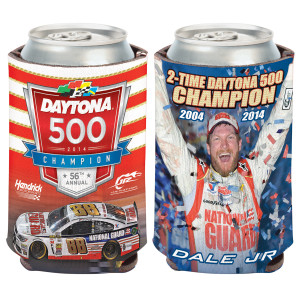 Dale Jr. 2014 Daytona 500 Can Cooler 12oz