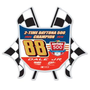 Dale Jr. 2014 Daytona 500 Hard Insert Pin