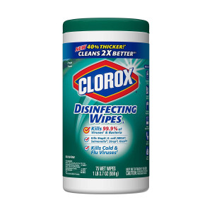 Clorox Disinfecting Wipes Fresh Scent - 75 count