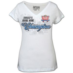 Dale Jr. Ladies 2014 Daytona 500 T-shirt