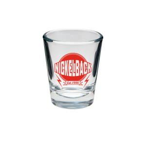 Nickelback Est 1995 Shot Glass