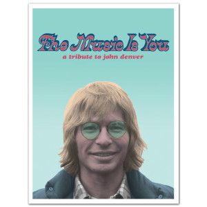 John Denver 'The Music Is You' Lithograph