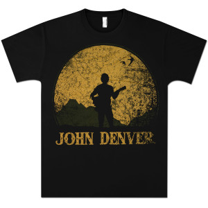 John Denver - Silhouette Men's T-shirt