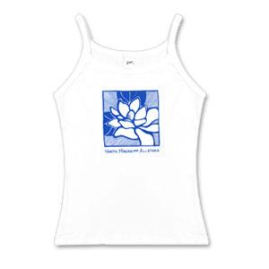White Magnolia Tank