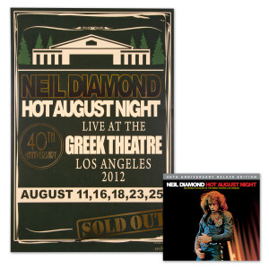 Hot August Night 40th CD + Poster Bundle