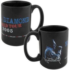 World Tour '05 Blue Mug