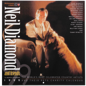 Neil Diamond and Friends 1999 Calendar