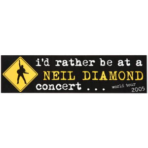 World Tour '05 Bumper Sticker