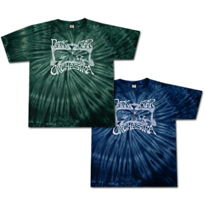 Dark Star Orchestra - White Print Stars and Dust Dye T-Shirt