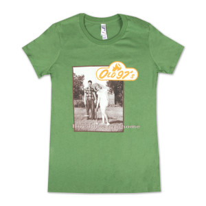 Old 97s Hitchhike to Rhome, 2-sided LTD Release Women's T-Shirt