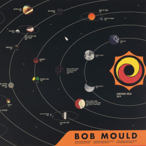 Bob Mould 40th Anniversary Solar System Poster