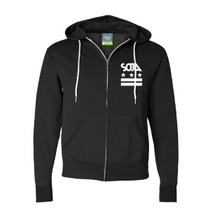 SOJA Stars & Stripes Zip Hoody