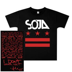 SOJA - Stars & Bars Youth T-Shirt - Black