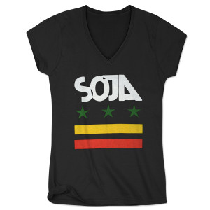 SOJA - Stars & Bars Stars and Bars Ladies V-Neck