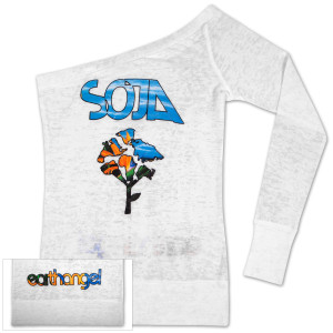 SOJA - Earthangel One Shoulder Top