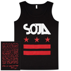 SOJA - Stars & stripes Black Tank