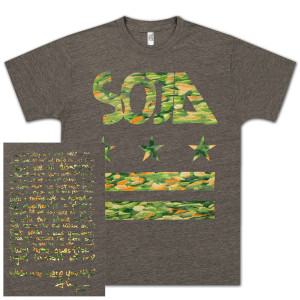 SOJA - When We Were Younger Men's T-Shirt