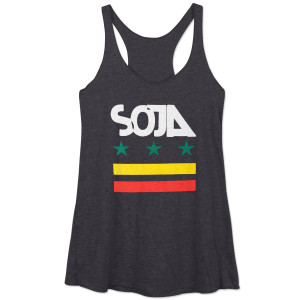SOJA - Black Stars & Bars Women's Tank