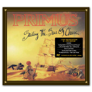 Sailing the Seas of Cheese Deluxe Edtion CD/DVD