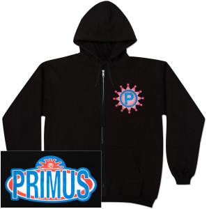 Primus Logo Zip Hoodie