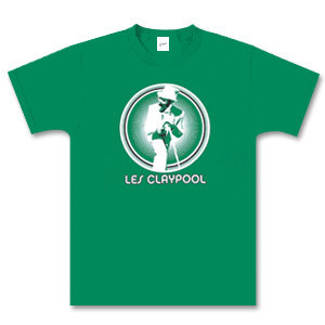 Green Les Claypool Burst T-Shirt