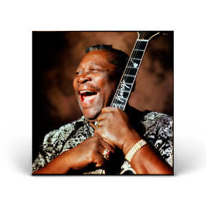 B.B. King with Lucille