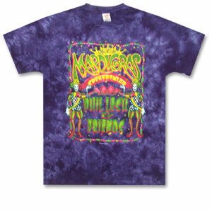 Phil Lesh and Friends Mardi Gras Event Tie Dye T