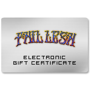 Phil Lesh Electronic Gift Certificate